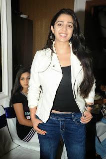 Actress Charmi Kaur Pictures in Jeans at One by Two Movie Celetes 20 Years Event 0114