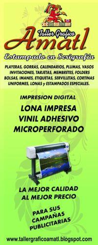 IMPRESION DIGITAL DE LONAS
