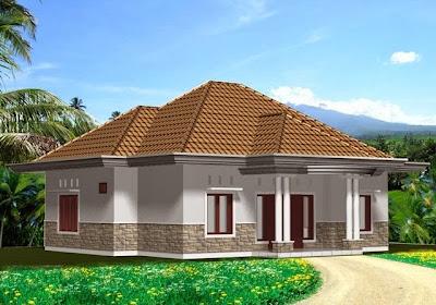 Contoh Gambar Rumah Tinggal Sederhana