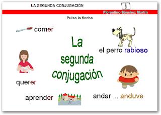 http://cplosangeles.juntaextremadura.net/web/edilim/curso_4/lengua/segunda_conjugacion/segunda_conjugacion.html