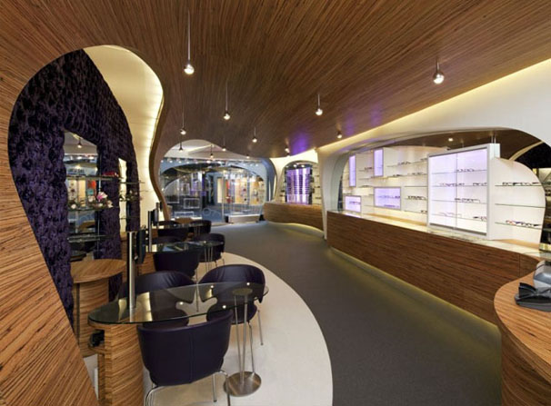 'Hofstede' Optical Store Interior Design