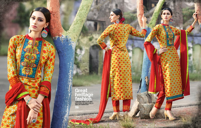 Colour House Vol-1 – Cotton Dress Materials Buy Wholesale