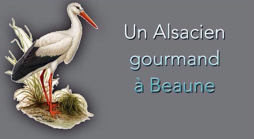 un Alsacien à Beaune
