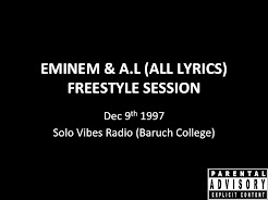 Eminem & All Lyrics Freestyle 1997