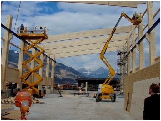 Dầm gỗ vân sam - Hướng mới cho sử dụng gỗ trong kết cấu