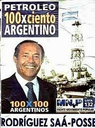Afiche Presidencial 2003