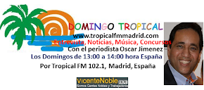 Oscar Jimenez Presenta Domingo Tropical