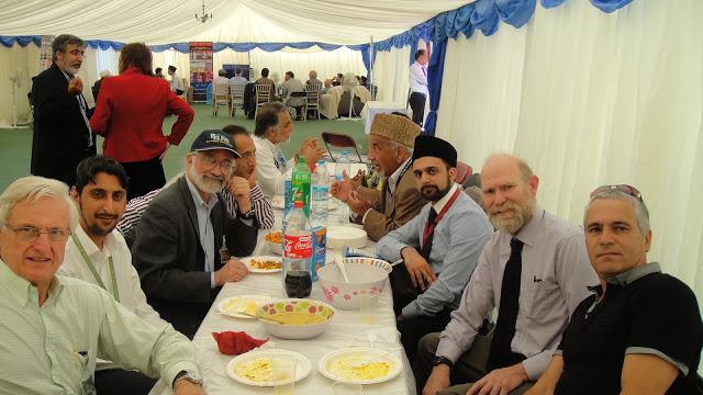 David Rolfe, Arif Khan, Barrie Schwortz, opposite Amer Safir, Hugh Farey, and Simon Brown.