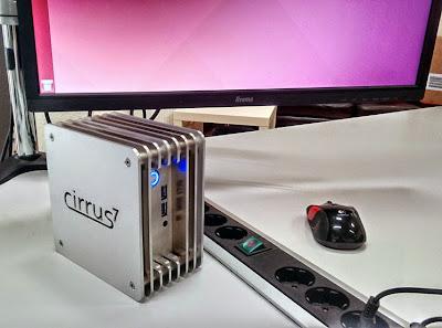 PC Mini Cirrus7 Nimbini dengan Ubuntu OS