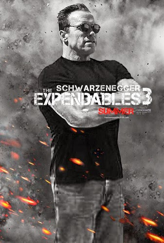 Arnold Schwarzenegger The Expendables 3