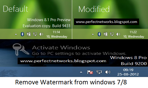 Remove Watermark From Windows 7 Windows 8