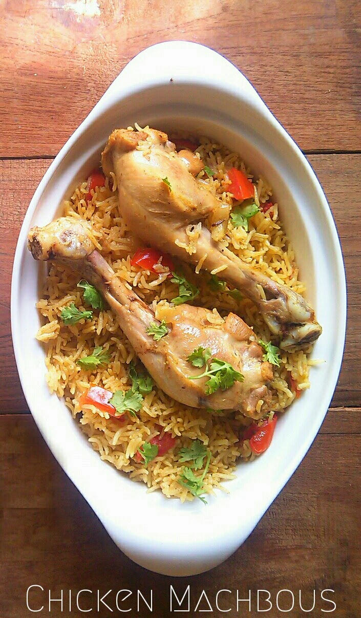 Chicken Machbous | Bahraini Chicken and Spicy Rice Recipe.