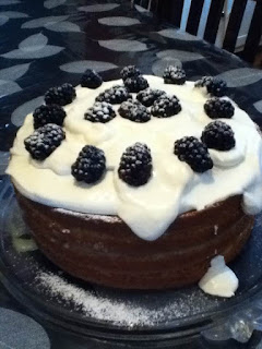 picture of a Lemon Blueberry Cake - baked by rob g.