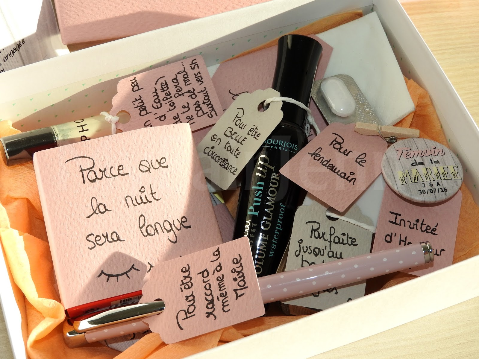 Top WEDDING] J-9 Mois | DIY : Nos Boîtes à Témoins - (BestMan Box  KX34