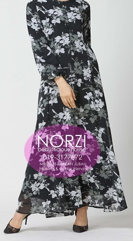 NBH0478 IMAARAH JUBAH DRESS (NURSING FRIENDLY)