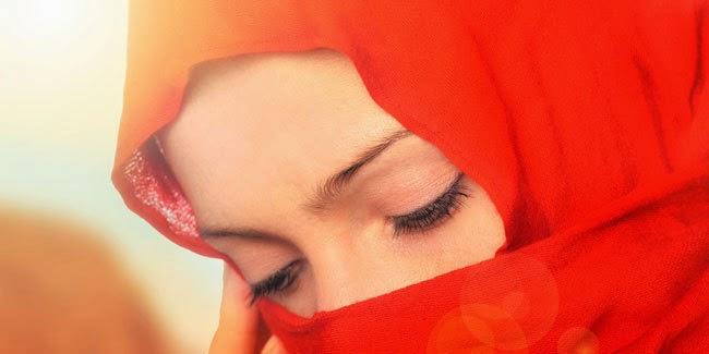 Jilbab Sederhana Ala Perempuan Timur Tengah