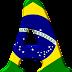Alfabeto con la Bandera de Brasil.