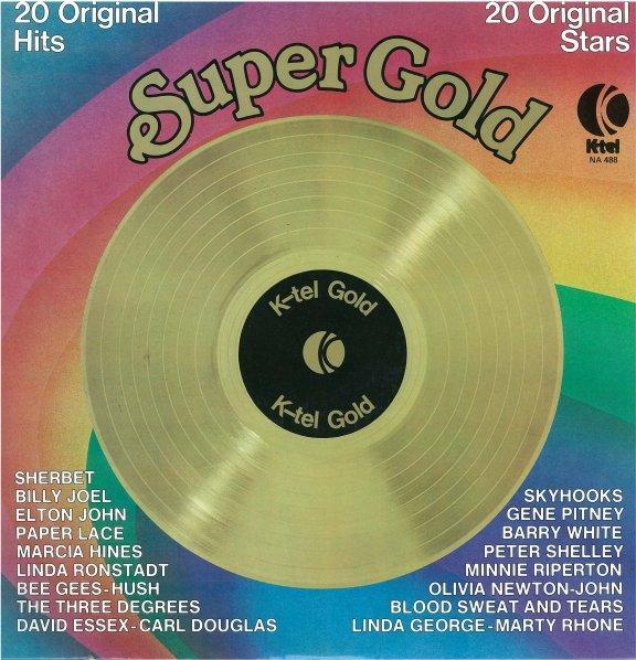 Rock On Vinyl Various Artists Super Gold K Tel 1975