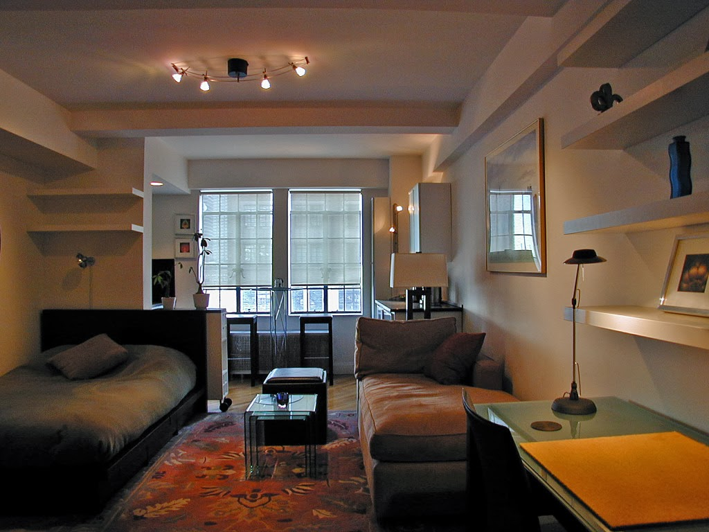 Designs For Studio Apartments Modern Multipurpose Studio Apartment