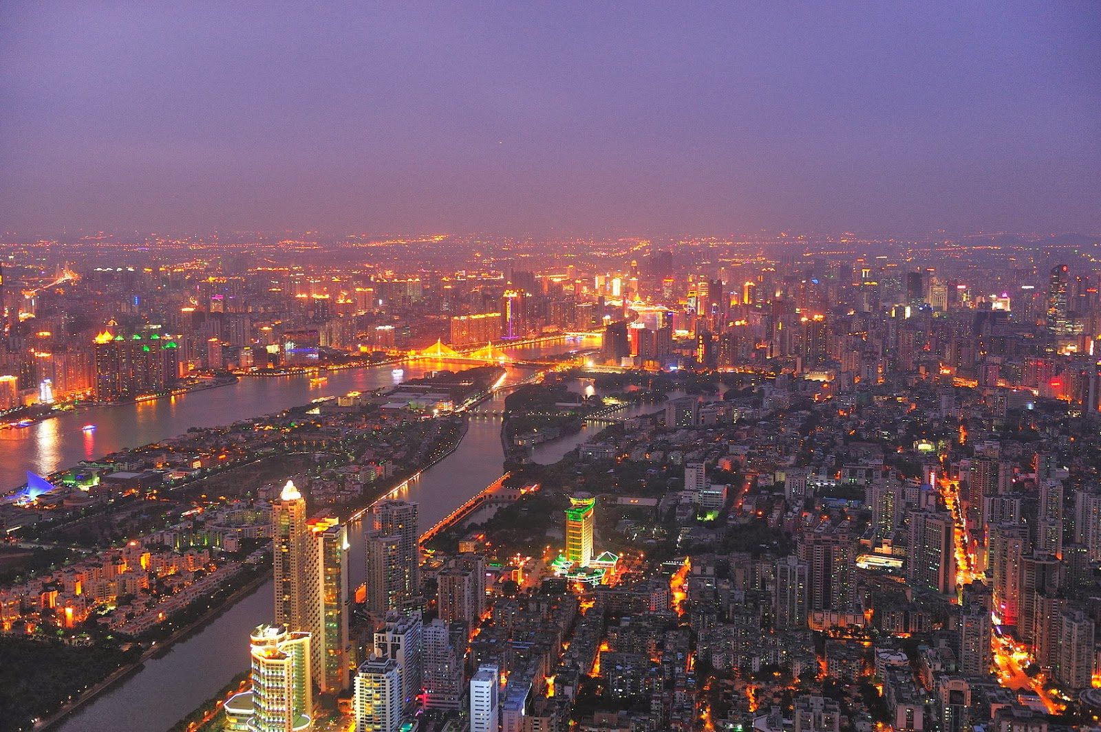 Cities Of The World Wallpapers Hd Part 7 Guangzhou