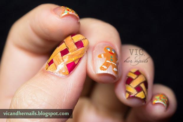 vic and nails christmas winter