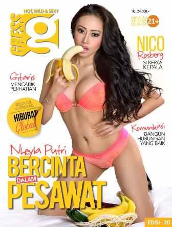 Download Gratis Magz Gress Magazine Edisi 20-2014 Free | Gress 20 Nheyla Putri, Bercinta dalam Pesawat | Nheyla Putri, Rhere Jr, Dewi Purnama S | www.insight-zone.com