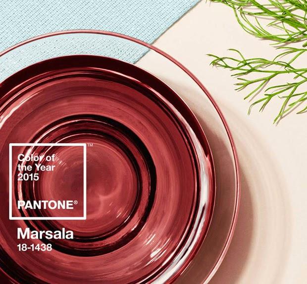 Color marsala pantone 2015