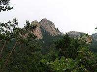 El Serrat de Picamill des del Torrent del Duc