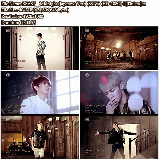 Download PV BEAST (B2ST / 비스트) - Midnight (Japanese Version) (SSTV Full HD 1080i)