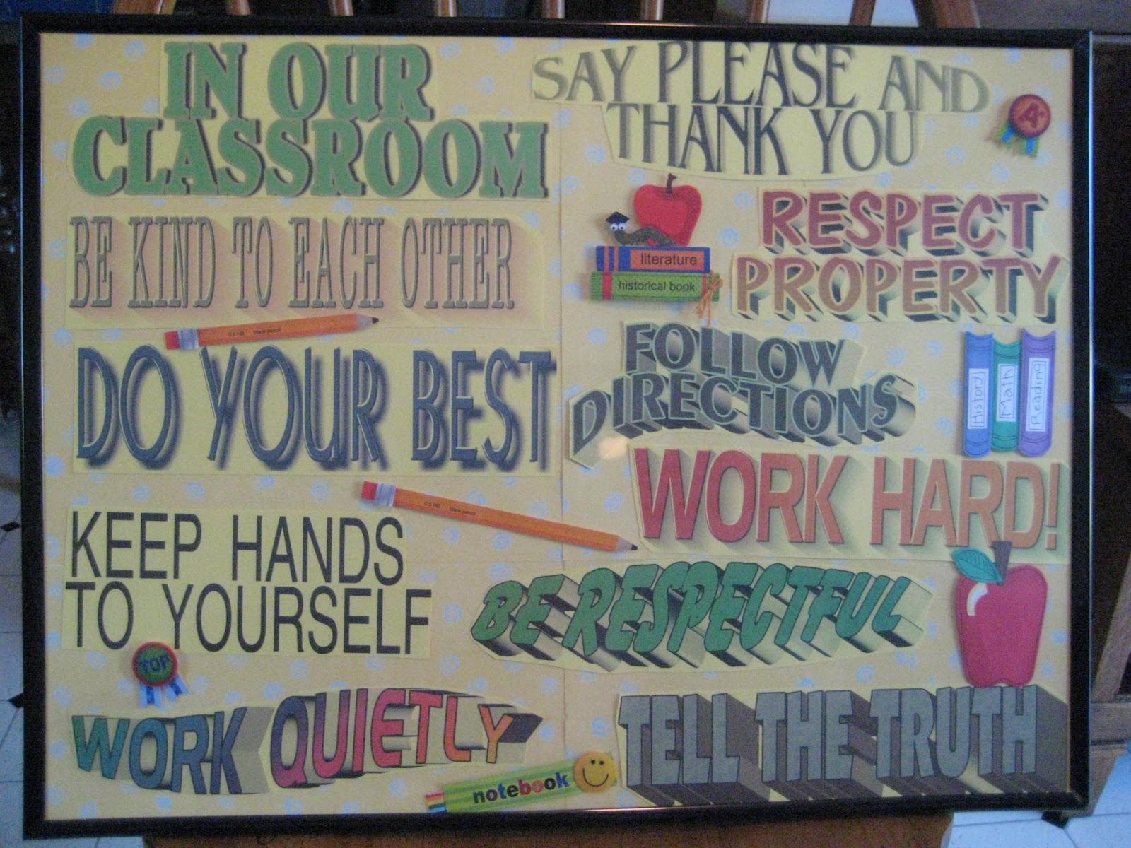 Classroom Rules Ideas : Day s class notes a dozen ideas for the classroom and i
