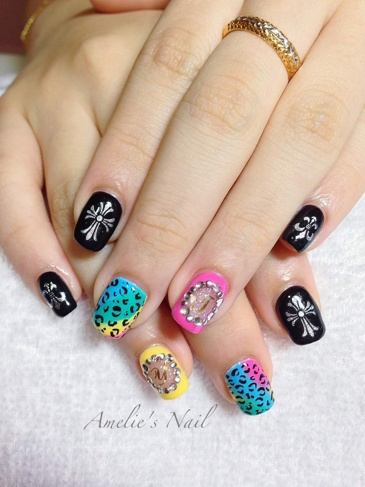 The Enchanting Simple leopard print nail designs pictures Photo