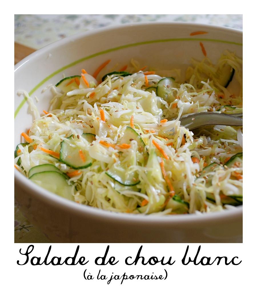 Ne parle pas la bouche pleine !: Salade de chou blanc ( à