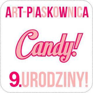Sto lat! Candy + Blog Hop at Art - Piaskownica