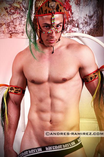 Juan Jesus Ortiz photographer Andres Ramirez underwear by Barcode