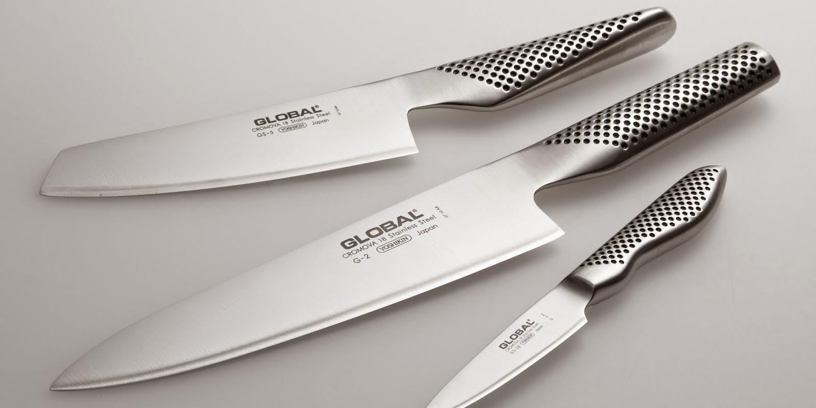 Knivslipning | Slipa knivar | Slipa kniv | Slipning av knivar | Slipa Globalkniv