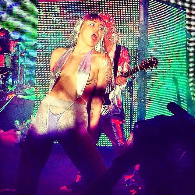 Miley Cyrus no habras tanto la boca