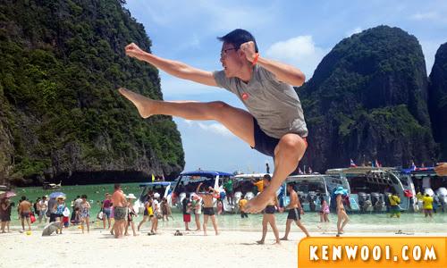 maya bay jump