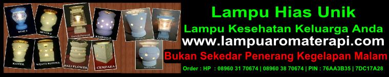 Lampu Hias Aromaterapi Yogyakarta