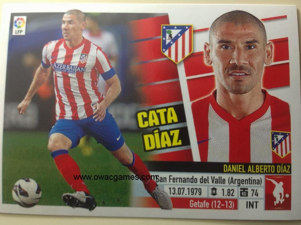 Liga ESTE 2013-14 Atl. de Madrid - 6B . Cata Díaz