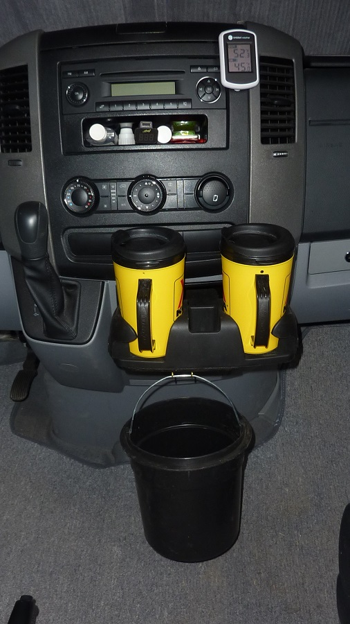 Travels Of The Mercury Sprinter Drink Holders Suck Resolved