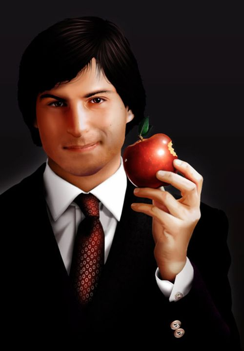 40 Lukisan Steve Jobs yang Mengagumkan: Think Different