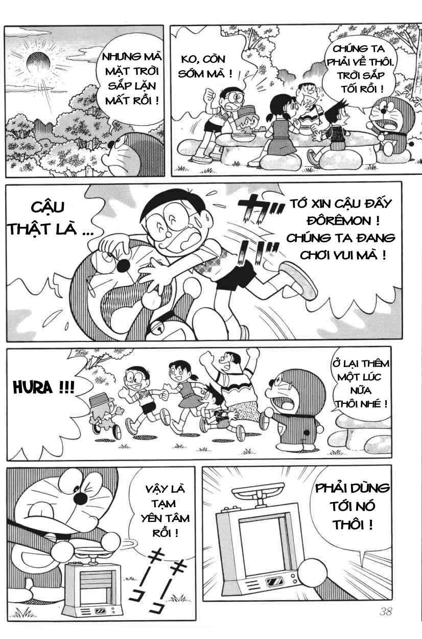Truyện tranh Doraemon Dài Tập 25 - Nobita và truyền thuyết thần rừng trang 35