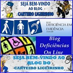OS TRES SITES JUNTOS DO CARTEIRO LIGEIRINHO,DEFICIENCIAS EM EVIDENCIA E AGORA DEFICIENCIAS ON LINE