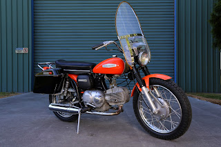 Harley Davidson 250 Sprint 1969