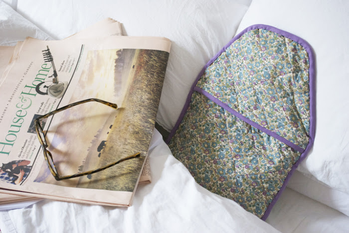 Stone Cold Comfort: A DIY Liberty Print Hot Water Bottle
