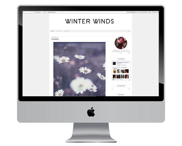 Winter Winds Template