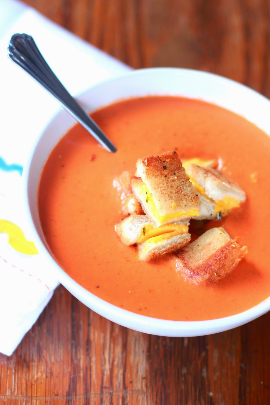 ... Another Day: Slow Cooker Tomato Basil Soup {Slow Cooker Saturday