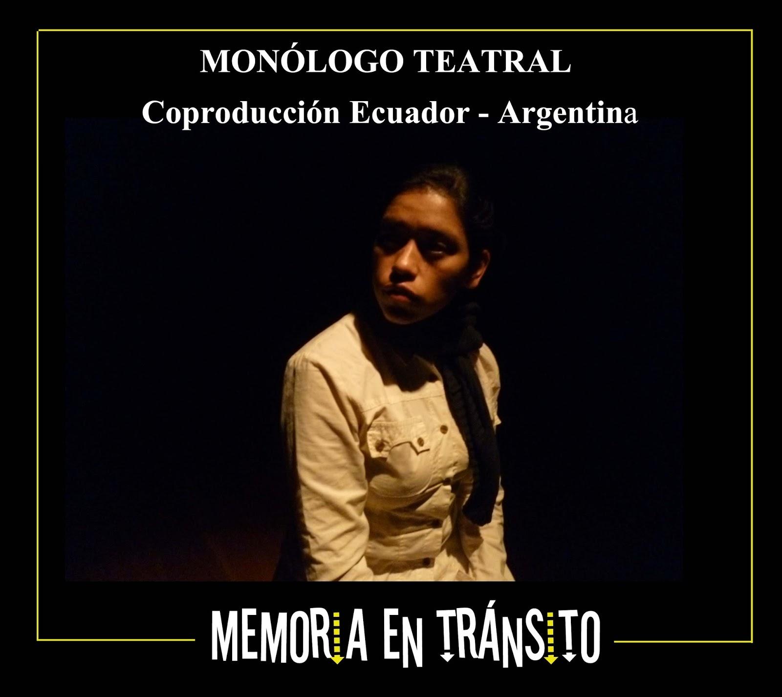 "Obra teatral: ""Memoria en tránsito"""