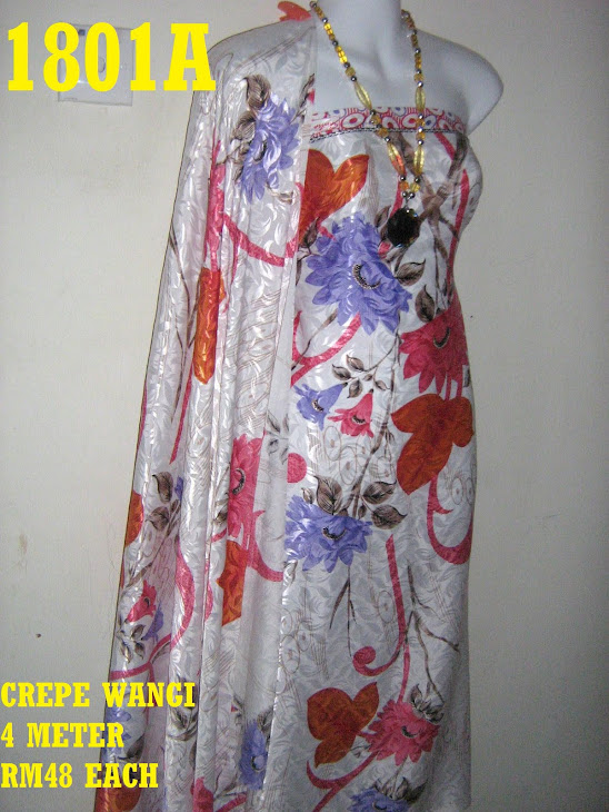 CW 1801A: CREPE WANGI, 4 METER