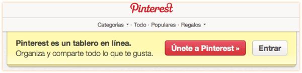 Creando la cuenta de Pinterest-paso1